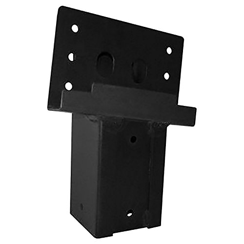 Elevators 4x4 Brackets for Deer Blinds, Playhouses, Swing Sets, Tree Houses. Made in The USA with Premium Construction Grade Steel. (Set of 4)