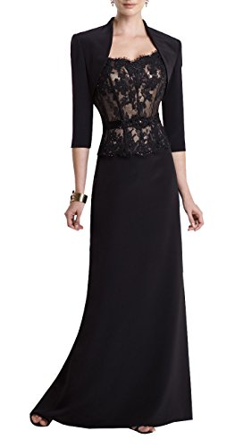 of Butterfly Chiffon Dresses Bride Prom Size Dresses Dresses Paradise Plus Black The Mother qwZw1Xxr