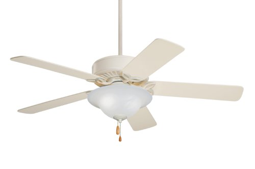 Emerson Ceiling Fans CF712AW Pro Series Indoor Ceiling Fan With Light, 50-Inch Blades, Summer White Finish ()