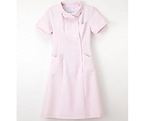 ナガイレーベン8-4853-01ナースウェア(フリル襟/ワンピース)ピンク/S B07BD2VT2Y