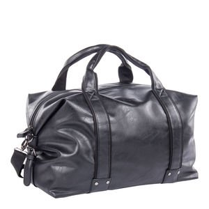 9d9c2575c7b1 Image Unavailable. Image not available for. Colour  Bugatti Valentino  Duffel Bag- Black
