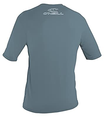 O'Neill Wetsuits UV Sun Protection Mens Basic Skins Short Sleeve Tee Sun Shirt Rash Guard