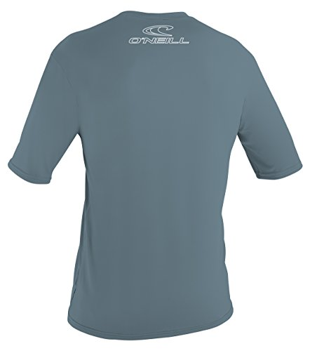 O'Neill Wetsuits UV Sun Protection Mens Basic Skins Short Sleeve Tee Sun Shirt Rash Guard