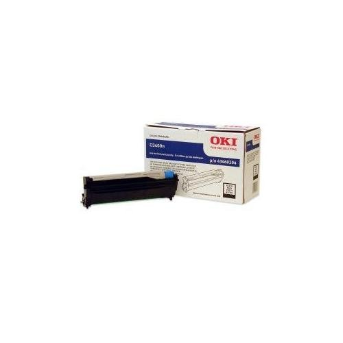 Oki® 43460201, 43460202, 43460203, 43460204 Drum Unit DRUM,F/ C3400 SERIES,BK 70-2020-1009 (Pack - 43460204 Black Okidata Drum