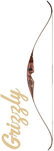 Bear AFT2086150 Grizzly Recurve Bow, Right Hand, 50#