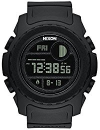 Nixon Super Unit Digital Watch All Black