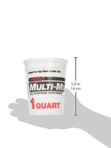 Leaktite 1 Quart Multi-Mix Container, 2M3, Box of 50 by Leaktite (Image #1)