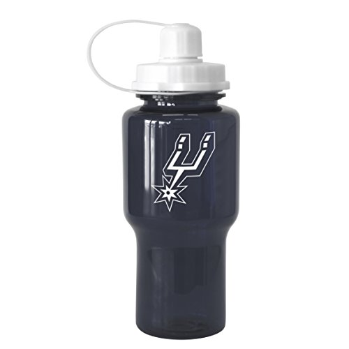 NBA San Antonio Spurs Tritan Travel Mate Water Bottle, 24-ounce by Boelter Brands