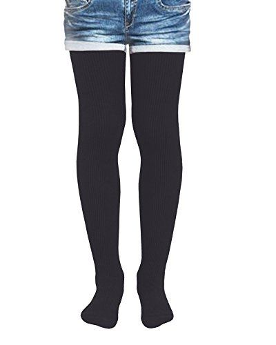 94fcce791de5d Kids Fashion Girls Ribbed Semi-Opaque Tights 40 Denier - Buy Online in  Oman. | Clothing Products in Oman - See Prices, Reviews and Free Delivery  in Muscat, ...