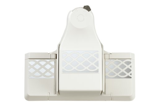 Martha Stewart Crafts 2-in-1 Deep Edge Paper Punch, Simple Lattice