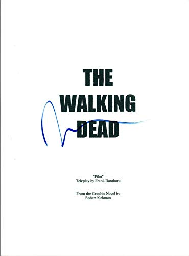 Norman Reedus Signed Autographed THE WALKING DEAD Pilot Episode Script COA AB from Unknown