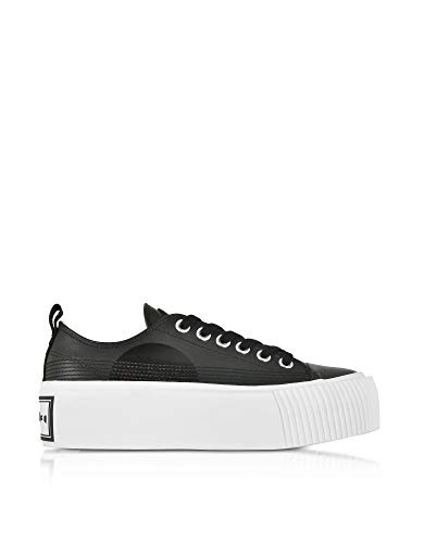 MCQ by Alexander McQueen Women's 545106R25671000 Black Canvas Sneakers