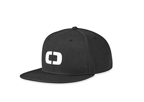 - OGIO Alpha Core Icon Snap Back Hat Men's Headwear), Black, Adjustable