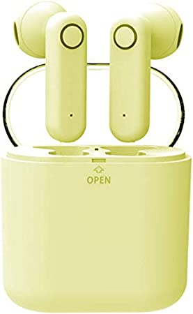 yobola Ultra Longue Autonomie Ecouteurs Bluetooth 4.1 sans Fil Oreillette Intra Auriculaire Casque Sport Etanche Réduction du Bruit avec Microphone