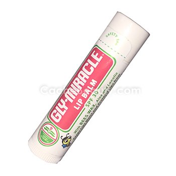 Gly-Miracle Lip Balm * SPF 30 * 0.15 Ounce * 5 Pack