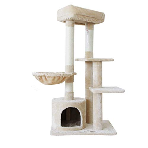FTFDTMY Kätzchen-Klettergerüst, Sisal-Kratzbaum Kleines Katzenkratzregal Katzenhaus Einteiliges Katzenspielzeug (Farbe…