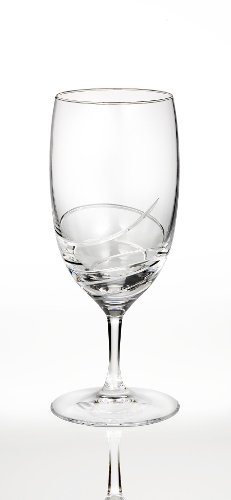 Waterford Ballet Ribbon Essence Platinum Iced Beverage Essence Iced Beverage Glass
