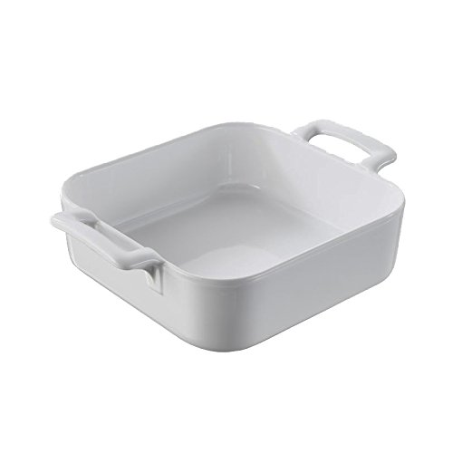 Revol 621333 BC1520 Square Baking Dish, 7.75 x 7.75 x 2.5