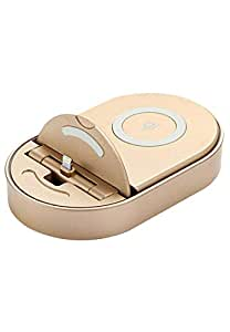 TOTU Design Qi Wireless Charger IPhone Charge Dock - Gold