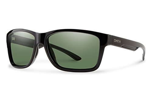 Smith Optics Men's Drake Chroma Pop Polarized Sunglasses (Gray Green Lens), - Glasses Chroma