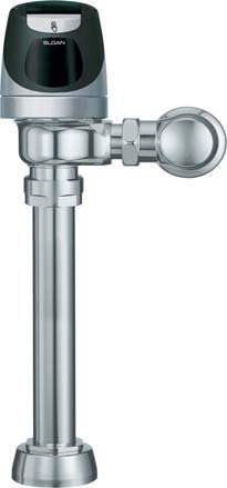 SOLIS Exposed, Solar Powered, Single-Flush Automatic Toilet Flush Valve - 1.6 GPF ()