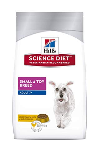 Hill's Science Diet Adult 7+ Small & Toy Breed Dry Dog Food