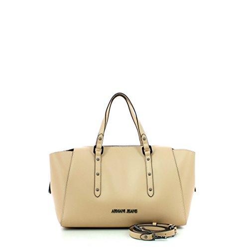 Para Marca Modelo Color Hueso Hombro Bolsos Mujer Hueso Y Shoppers 922172 De Jeans Armani Mujer Jeans P8Iwn