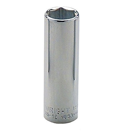 Wright Tool 35-08MM 3/8 Drive 6 Point Metric Deep Socket 8mm [並行輸入品] B078XKR1KJ