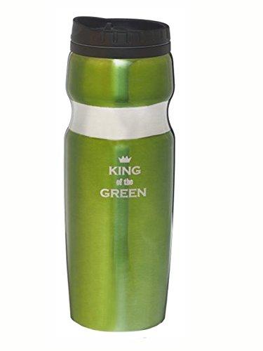 King Of The Green Travel Mug by Ganz (Mugs Travel Ganz)