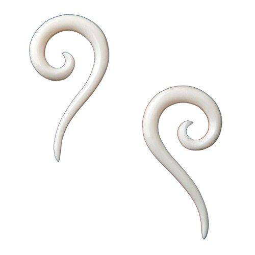 irals Gauged Plugs Body Piercing Jewelry Earrings 2 gauge ()