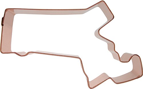 CopperGifts: Massachusetts State Shape Cookie Cutter