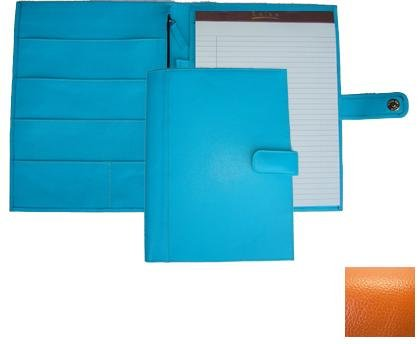 Raika RO 220 ORANGE 9.5in. x 12.5in. Soft Constructed Writing Pad - Orange by Raika