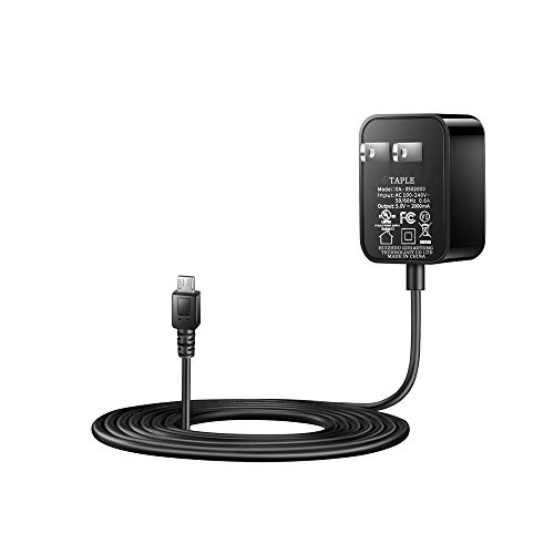 Kindle Fire HD 8 Tablet Charger [UL Listed] Compatible with Kindle Fire HD 8 Tablet and Fire HD 8 Kids Edition Rapid Power Adapter Supply Fast Charging with 6.5 Ft Micro-USB Cable