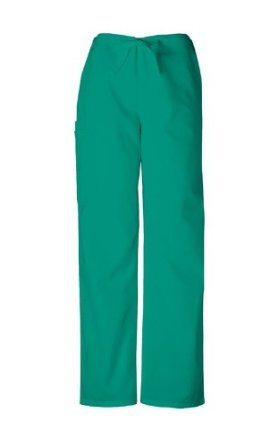 Cherokee Workwear Scrubs Unisex Cargo Pant, Surgical Green, Small/Short