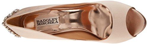 Women's Platform Badgley Pump Mischka Kiara Latte 5qPw7P0