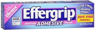 Effergrip Denture Adhesive Cream 1.50 oz (Pack of ()