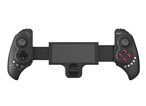 IPEGA PG-9023 Wireless Bluetooth 3.0 Joystick Gamepad Controller 6 Inch Telescopic Holder for Android Tablet PC - Black
