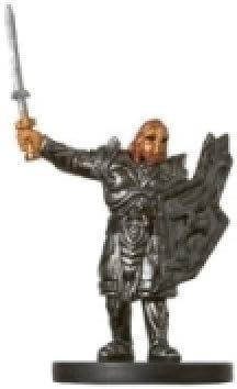 D /& D Minis Mercenary Sergeant # 27 Under Dark