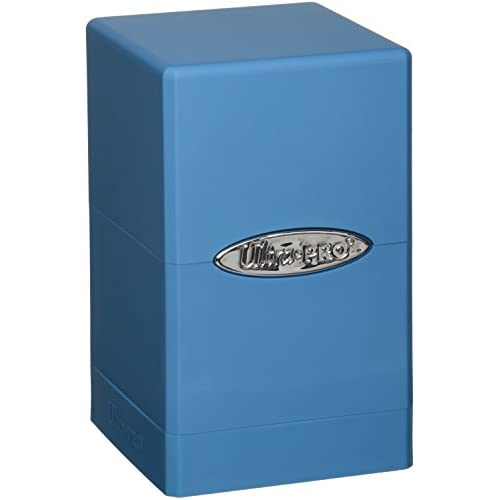 Ultra Pro 330579 - Jeu De Cartes - Deckbox - Satin Tower - Bleu Claire - C6