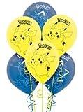 Pokemon -Pack Latex Balloons by Hallamrk