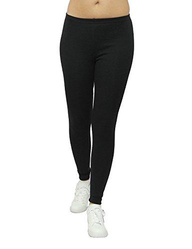Unita Tinta Sys Leggings Nero Pantaloni Donna Zt7wq7E