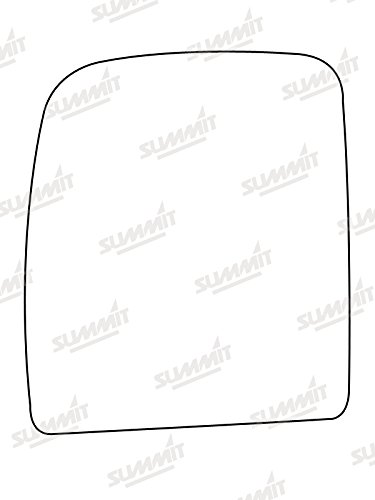 Summit Replacement Mirror Glass Fits on lhs of Vehicle