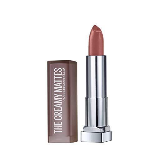 Maybelline New York Color Sensational Creamy Matte Lipstick, 657 Nude Nuance, 3.9g