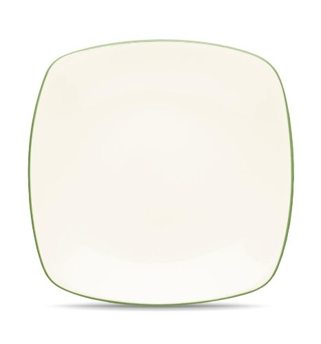 Noritake Colorwave Square Platter, 11-3/4-Inch, Apple Green