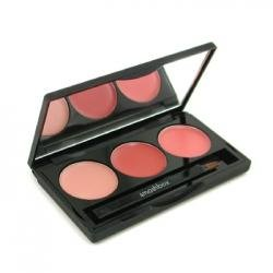 Lip Brilliance - Perfect Pout ( Coral/ Gold Pink/ Peach, Unboxed ) - Smashbox - Lip Color - Lip Brilliance Palette - 2.78g/0.1oz