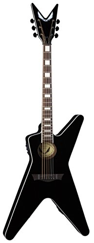 Dean ML Acoustic-Electric Guitar, Classic Black