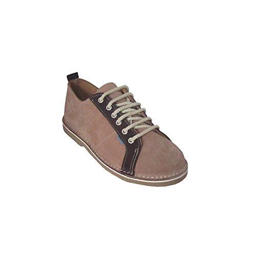 R906FP - Zapato deportivo tabaco - chocolate