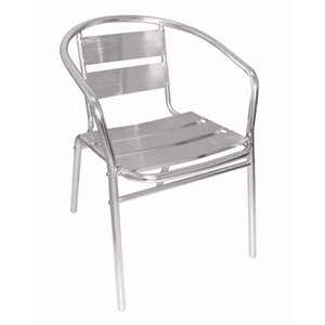 Bolero U419 Aluminium Stacking Chair (Pack of 4) Nisbets