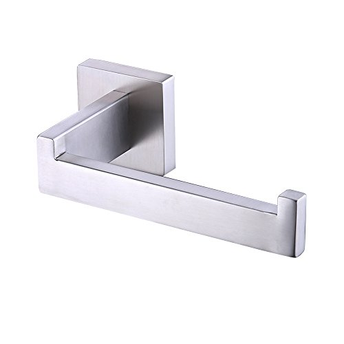 KES Toilet Paper Holder RUSTPROOF Stainless Steel Bathroom Tissue Paper Towel Roll Holder Hanger Wall Mount Brushed Finish, A2570-2