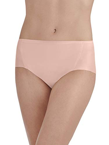 Vanity Fair Women's Underwear Nearly Invisible Panty, in The in The Buff, Medium/6